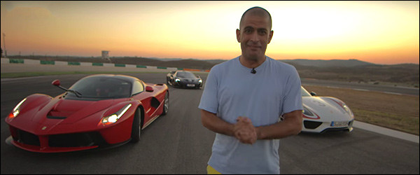 Video: Chris Harris test de Ferrari LaFerrari + Porsche 918 + McLaren P1