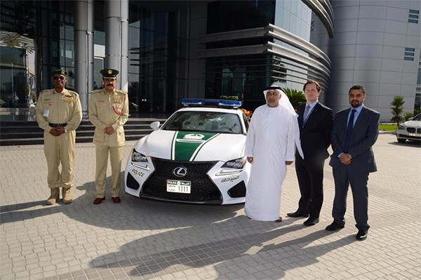 Dubai Police Force - Lexus RC F