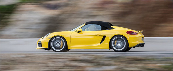 Video: EVO test de Porsche Boxster Spyder
