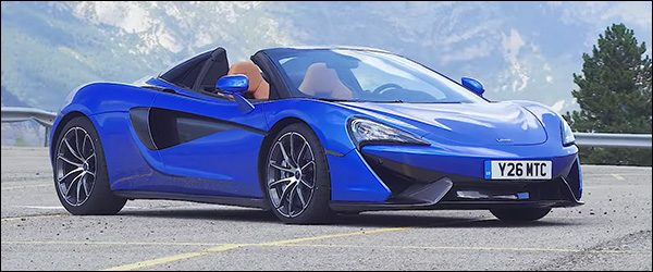 Video: EVO test de McLaren 570S Spider