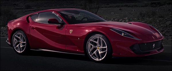 Video: Ferrari 812 Superfast in actie