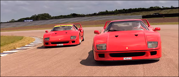 Video: Ferrari F40 vs Ferrari F40