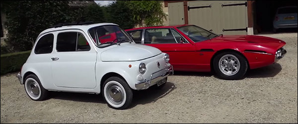 Video: Harry Metcalfe test de oldschool Fiat 500 '70