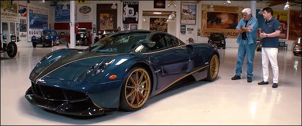 Video: Jay Leno en de Pagani Huayra