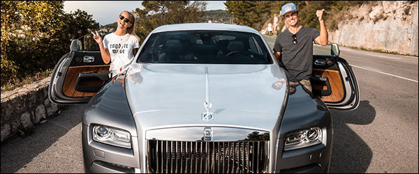 Video: Jon Olsson en de Rolls Royce Ghost / Wraith + Ferrari FF
