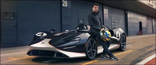 Video: Lando Norris test de McLaren Elva (2020)