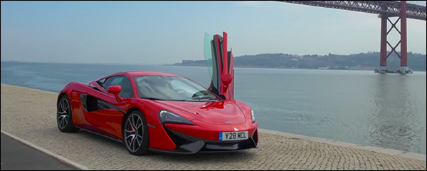 Video: McLaren 570S in actie