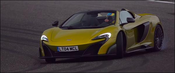 Video: Bruno Senna achter het stuur van de McLaren 675 LT Spider