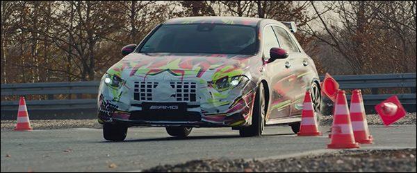 Video: Mercedes-AMG A45 wenst ons alvast een zalige kerst!