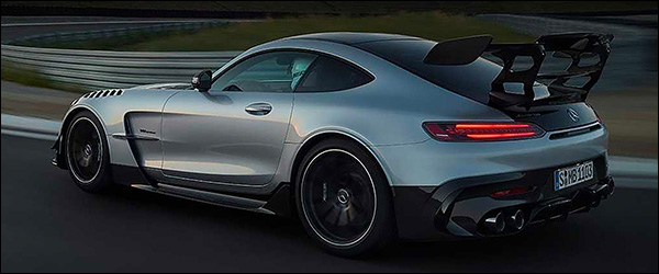 Video: Mercedes-AMG GT Black Series laat zich al zien (2020)