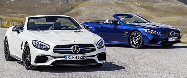 In detail: Mercedes SL-Klasse facelift + video's