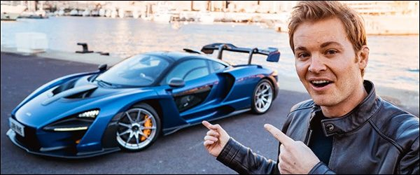 Video: Nico Rosberg test de McLaren Senna (2019)