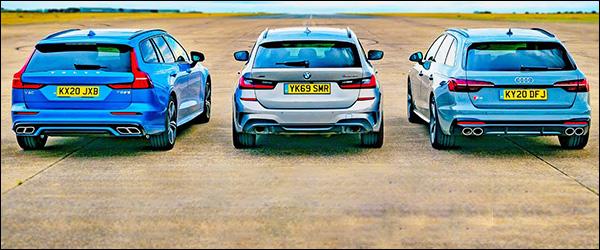 Poll: Audi S4 Avant vs BMW M340i Touring vs Volvo V60 T8 (2020)