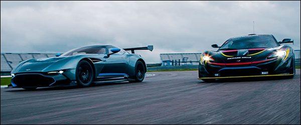 Poll: Aston Martin Vulcan vs McLaren P1 GTR