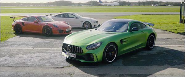 Poll: Mercedes-AMG GT R vs Porsche 911 GT3 RS vs BMW M4 GTS