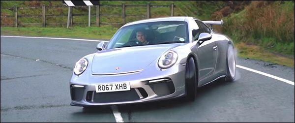 Video: Porsche 911 GT3 laat zich volledig gaan