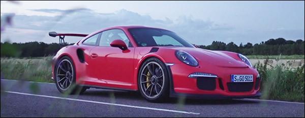 Goedemorgen: Porsche 991 GT3 RS vlamt bij dageraad