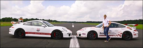 Video: Porsche 997 GT3 RS vs Porsche 991 GT3