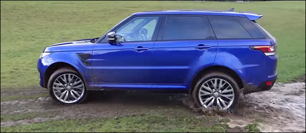 Video: Range Rover Sport SVR