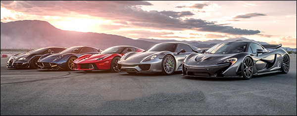 Poll: LaFerrari vs 918 Spyder vs Huayra 730S vs Veyron SuperSport vs P1 - Salomondrin video
