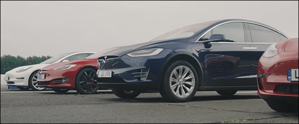 Video: Tesla Model 3 vs Tesla Model S vs Tesla Model X (2020)