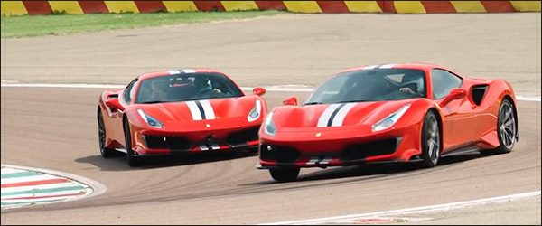 Video: Chris Harris test de Ferrari 488 Pista (2018)