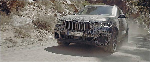 Video: nieuwe BMW X5 SUV is bijna klaar (2018)