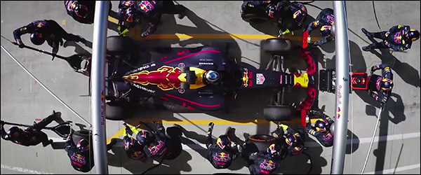 Video: De kunst van de perfecte pitstop - F1 Red Bull Racing
