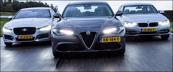 Poll: Alfa Romeo Giulia vs BMW 3-Reeks vs Jaguar XE