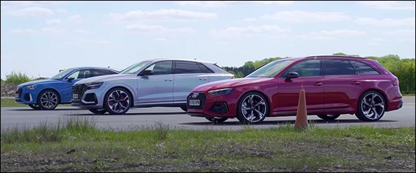 Poll: Audi RS Q3 Sportback vs RS4 Avant vs RS Q8 (2020)