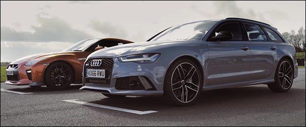 Poll: Audi RS6 Avant vs Nissan GT-R