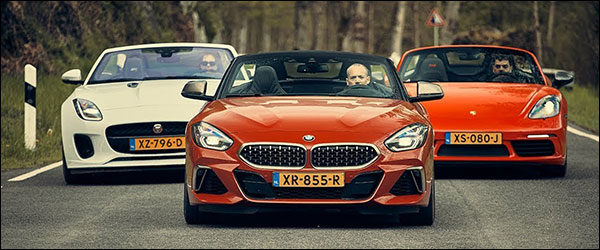 Poll: BMW Z4 Roadster vs Jaguar F-Type Convertible vs Porsche 718 Boxster T (2019)