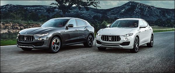 Video: Maserati Levante laat zijn V6 brullen