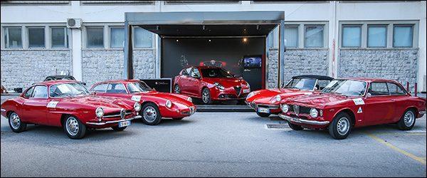 Volg Alfa Romeo in de Targa Florio 2017