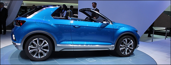Volkslwagen T-Roc Concept - Geneva 2014 Live