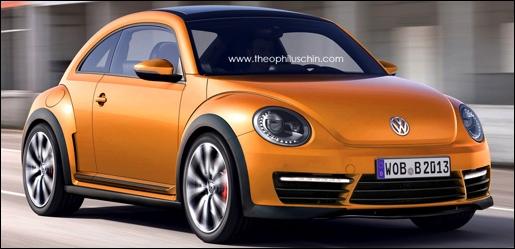 Der neue Volkswagen Beetle R