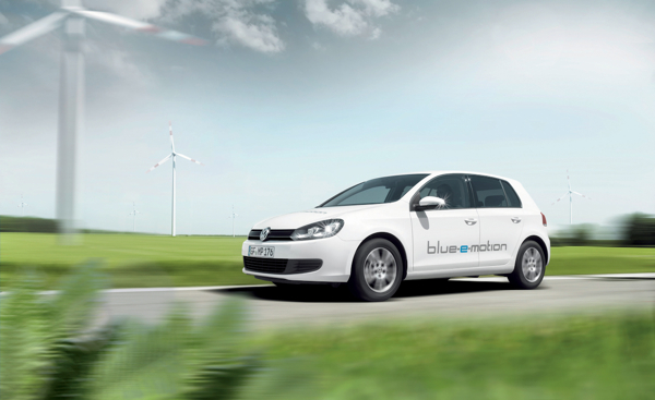 Volkswagen Studie Golf blue-e-motion