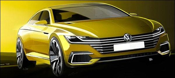 """Volkswagen """"CC"""" concept"""