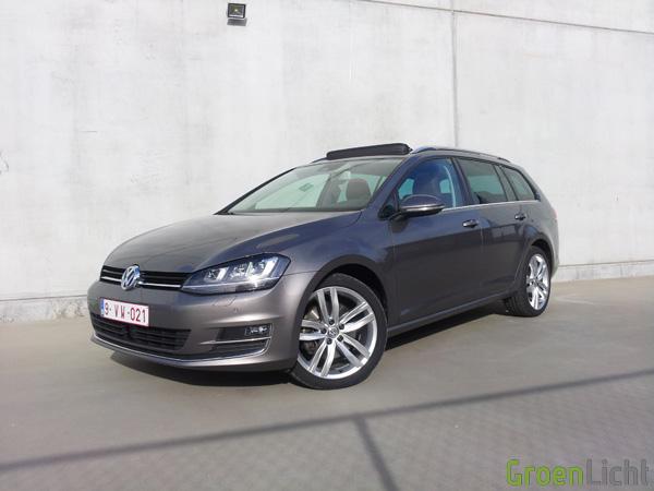 Volkswagen Golf Variant - Rijtest 06