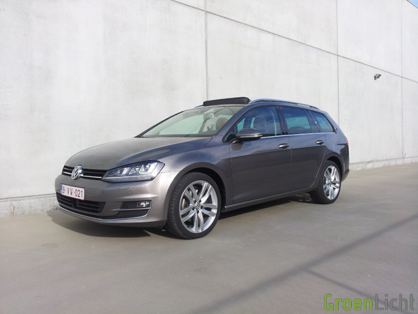 Volkswagen Golf Variant - Rijtest 09
