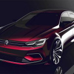 Volkswagen New Midsize Coupe (CLA concurrent - Golf CC)