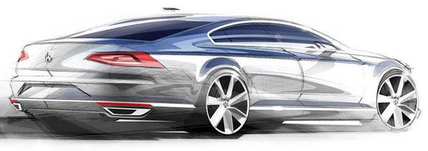 Volkswagen Passat 2014 - Achterzicht