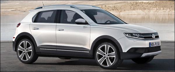 Volkswagen Polo Crossover Concept Geneve 2014
