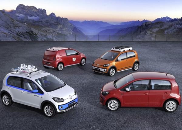 Volkswagen Up! Concepten Genève