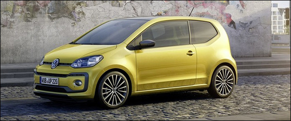 Officieel: Volkswagen Up! facelift (2016)