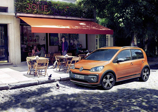 Officieel: Volkswagen cross up! facelift (2016)
