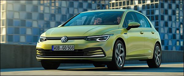 Belgische prijs Volkswagen Golf (2019): vanaf 28.100 euro
