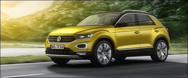 Officieel: Volkswagen T-Roc crossover (2017)