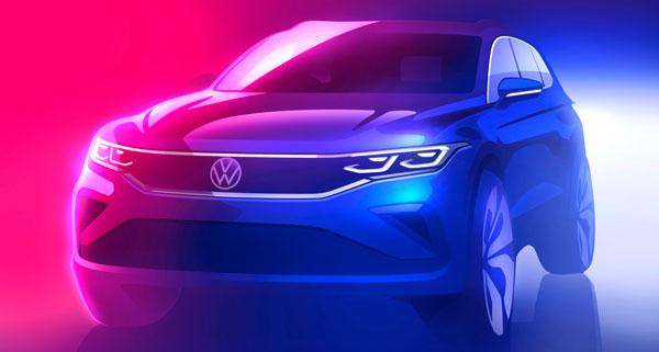 Preview: Volkswagen Tiguan facelift (2020)