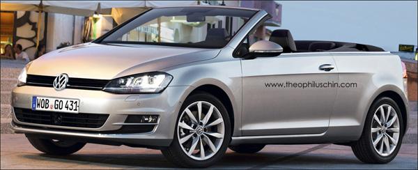 Volkswagen Golf Cabrio 7 VII 2014